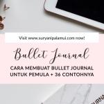 Bullet Journal Untuk Pemula