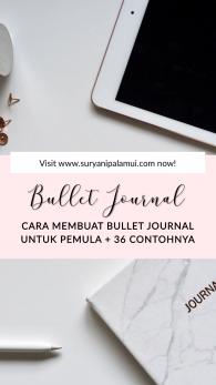 Cara Membuat Bullet Journal Untuk Pemula + 36 Contohnya yang Mudah Diterapkan