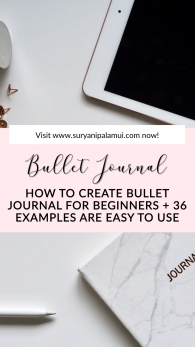 How to Set Bullet Journal for Beginners + 36 Examples are Easy to Use