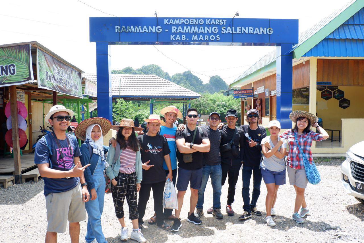 Trip Rammang-Rammang ASEAN Couchcrash 2019