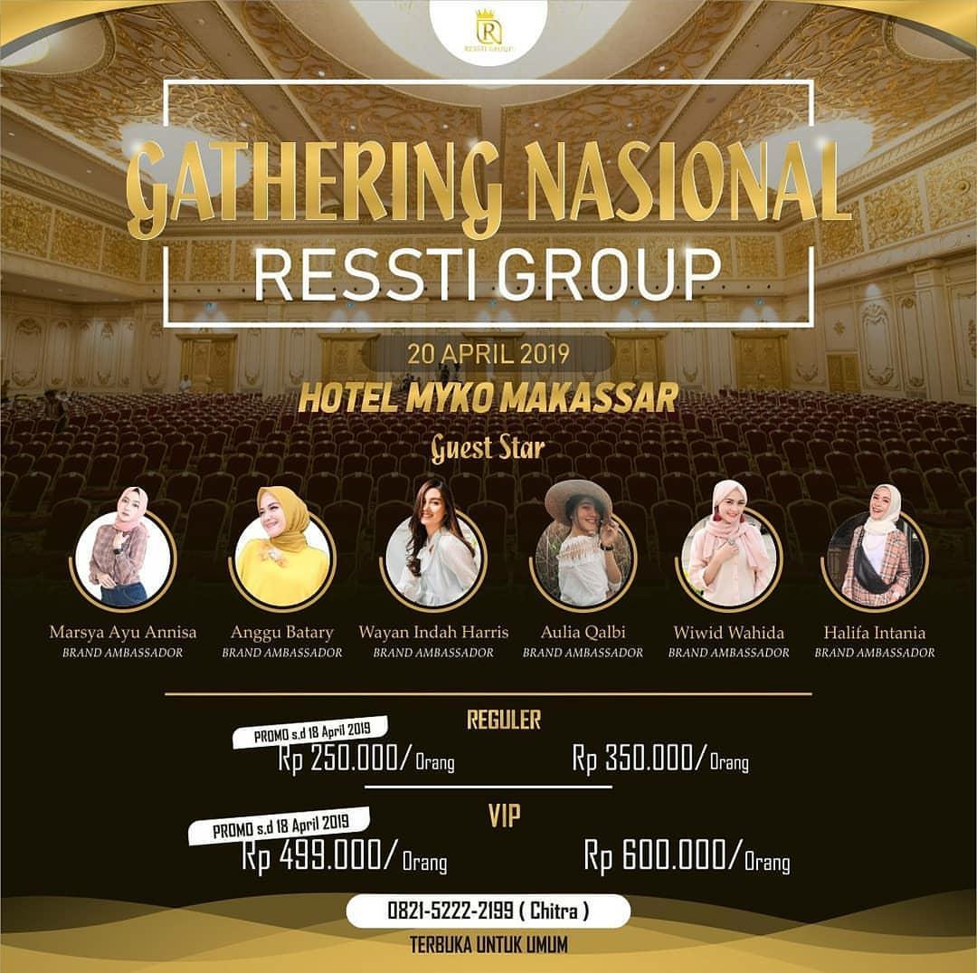Gathering Nasional Ressti Group dari dr. Ressti