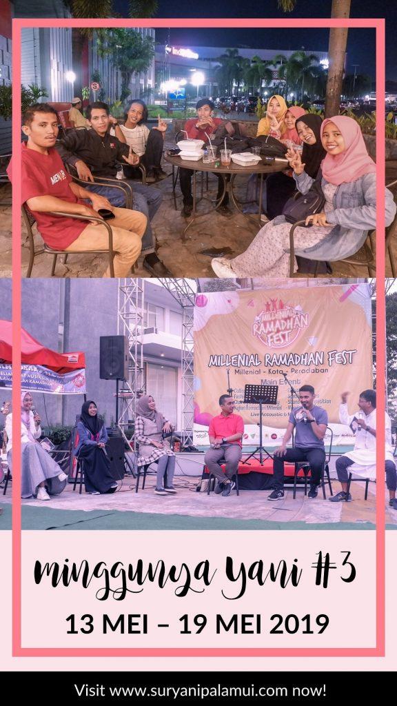 Minggunya Yani #3 : 13 Mei - 19 Mei 2019