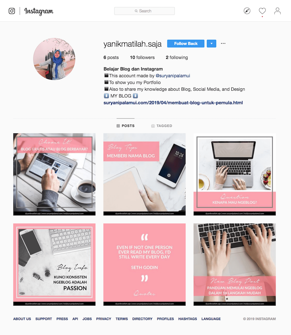 Yanikmatilah Saja Instagram