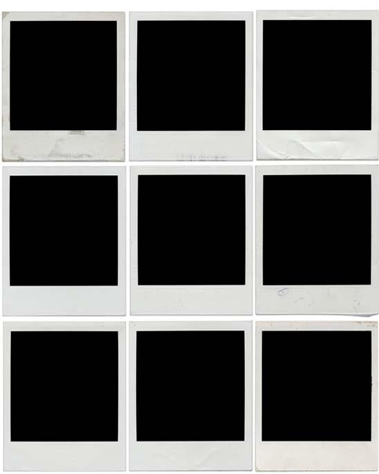 Polaroid Frame untuk Story Instagram