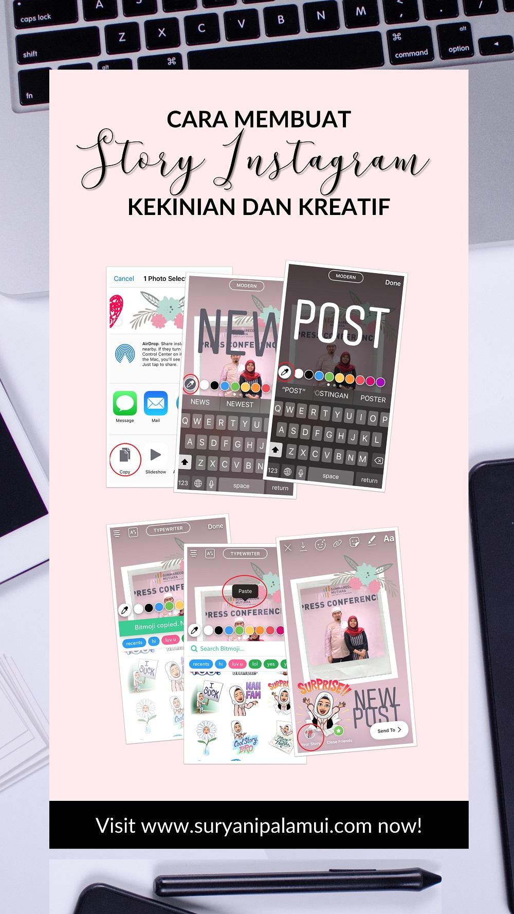 Story Instagram Kekinian & Kreatif, Ini Cara Buatnya + Graphics Gratis!