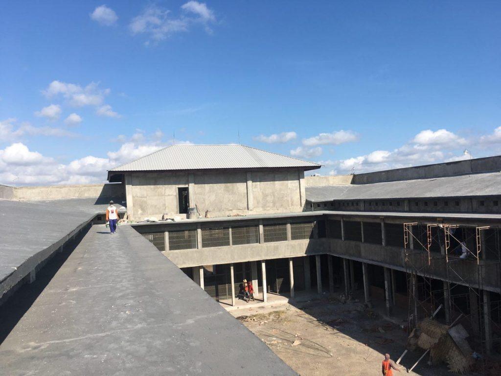 Atap Blok Hunian 1 Diawasi Pengawas Proyek