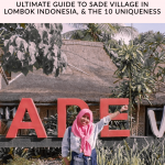 Sade Village in Lombok Island Indonesia