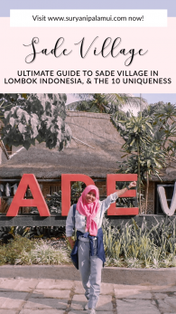 Ultimate Guide to Sade Village in Lombok Indonesia, and The 10 Uniqueness