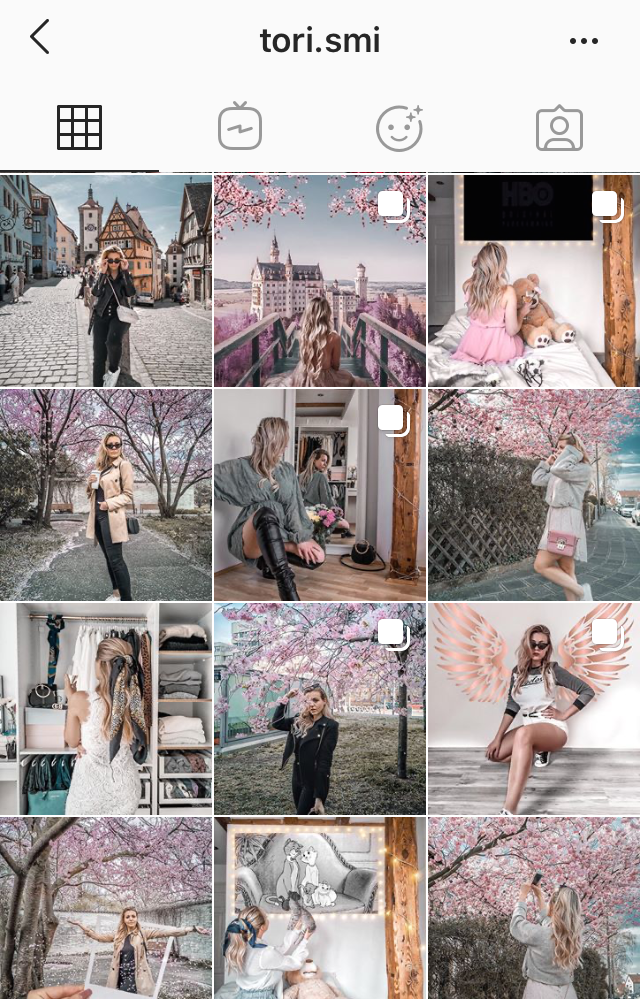Instagram Feed @tori. SMI