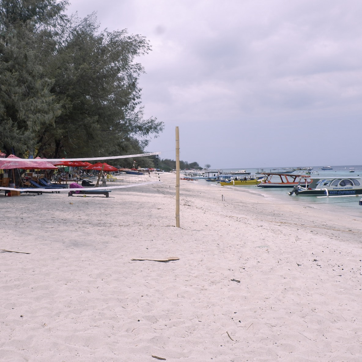 The beauty of Gili Trawangan
