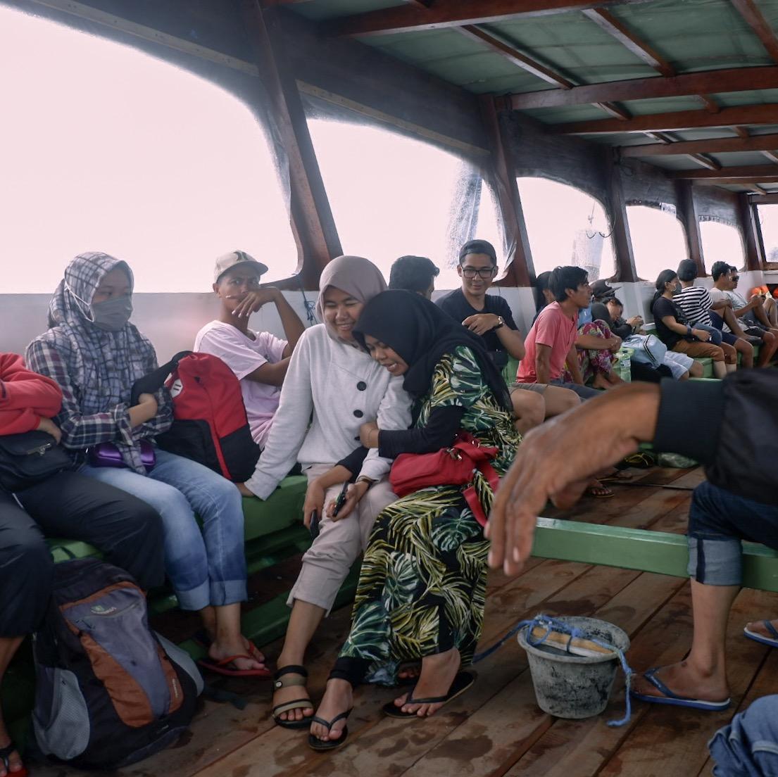 Boat to Gili Trawangan