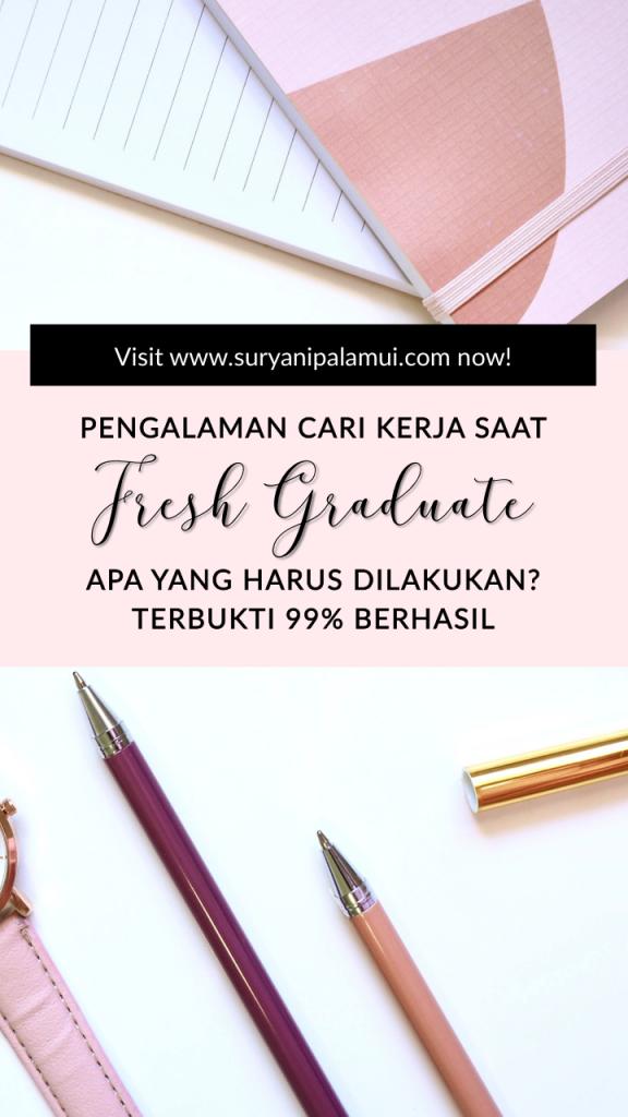 Fresh Graduate Cari Kerja