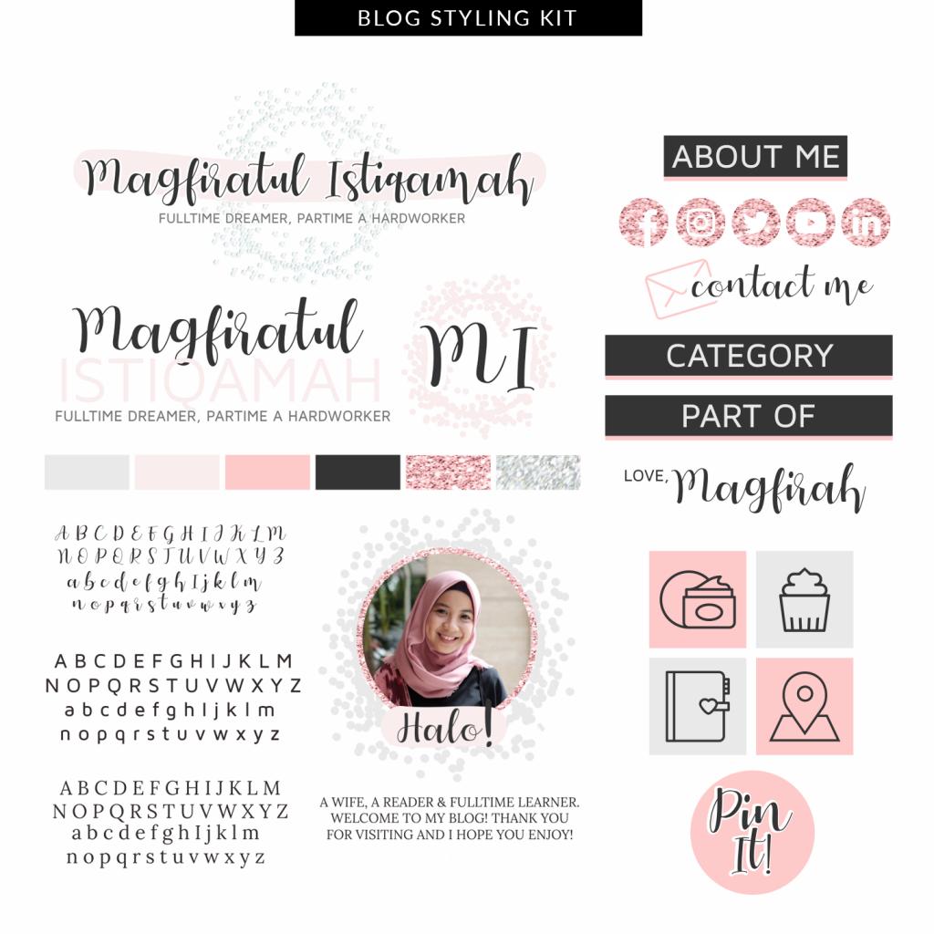 Desain Blog Magfiratul Istiqamah