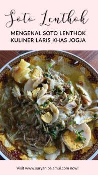 Mengenal Soto Lenthok Kuliner Laris Khas Jogja