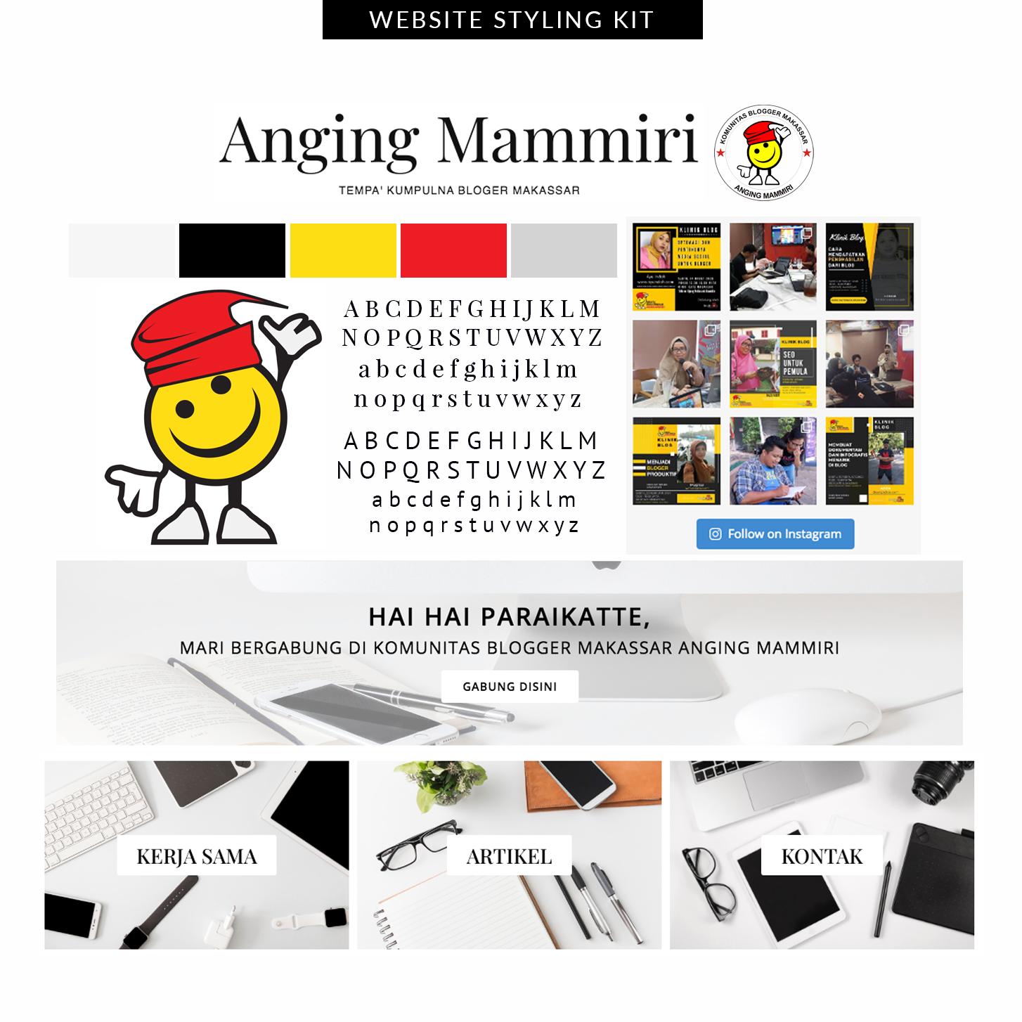Desain Website Blogger Makassar