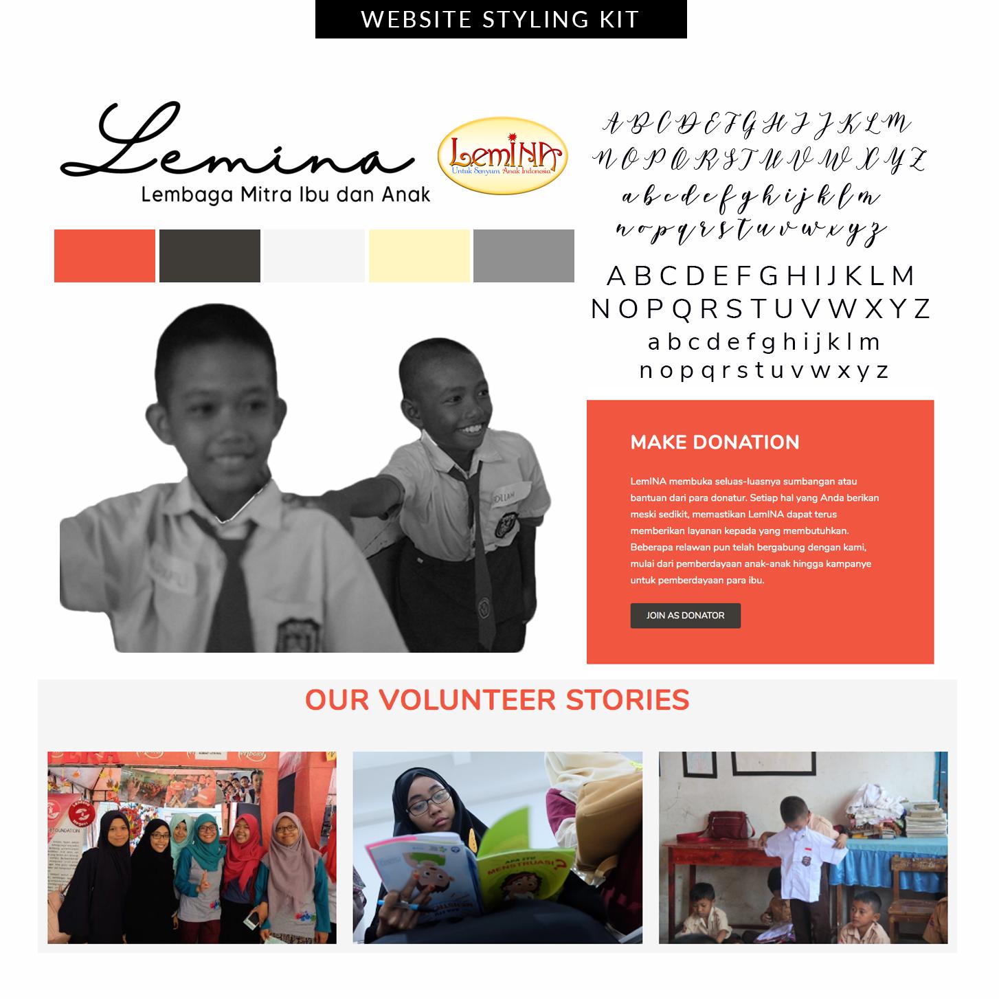 Desain Website Sobat LemINA