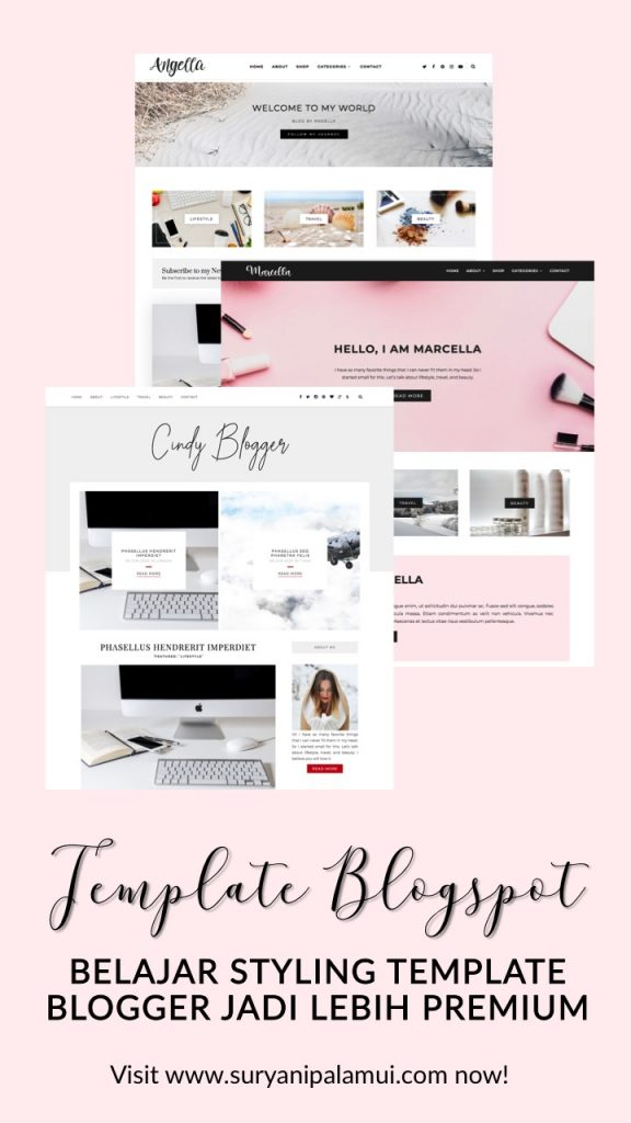Template Blogger Free Jadi Template Feminim Premium
