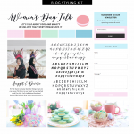 Desain Blog Womens Day Talk